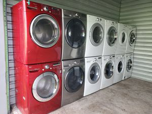 Washer and dryer perfect condition warranty for Sale in Miami, FL