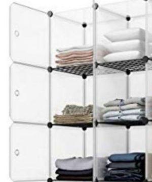"6-Cube Cabinet Closet Storage Organizer W/Doors ( measure14.4"" x 43.7"" x 29.9"") for Sale in Ontario, CA"