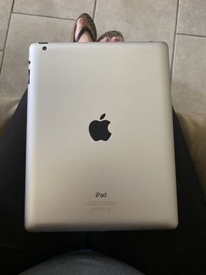 iPad 2 generation 16 GB with charger and case for Sale in Tampa, FL
