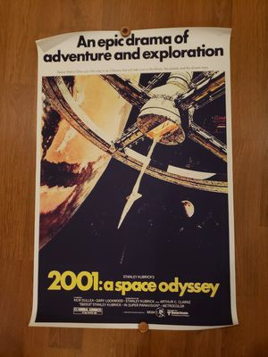"""2001: a space odyssey print 35.5"""" x 23.5"""" for Sale in Seattle, WA"""