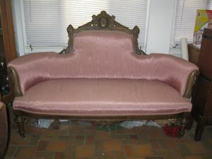 Antique Eastlake Settee & Matching Chair for Sale in Fort Lauderdale, FL