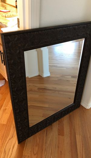 Wood etched mirror for Sale in Kenmore, WA
