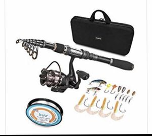 Telescopic Fishing Rod and Reel Kit for Sale in Hendersonville, TN