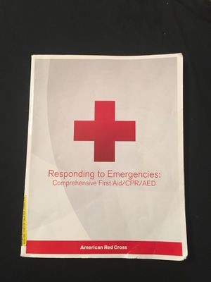 Responding to emergencies: comprehensive First aid for Sale in Houston, TX