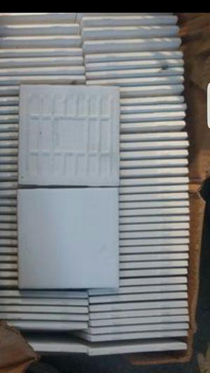 White ceramic tile only 60-80 tiles 1 box only for Sale in Norwalk, CA