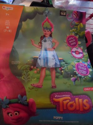 trolls poppy Halloween costume for Sale in San Diego, CA