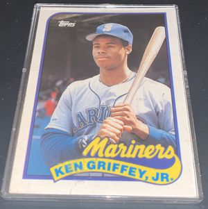Ken Griffey Jr. Topps Mint condition Baseball Card for Sale in Palatine, IL