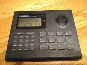 Boss Dr. Rhythm DR-550 Drum Machine for Sale in Tacoma, WA