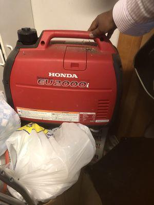 Excellent condition Brand new Honda generator for Sale in Alexandria, VA