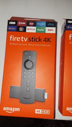 Amazon fire tv stick 4k con alexa for Sale in Miami, FL