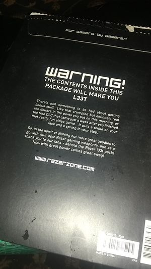 Razerzone gamer package for Sale in Phoenix, AZ