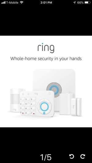 Ring Alarm 5 Piece Kit (1st Gen) – Home Security System with optional 24/7 Professional Monitoring for Sale in Temple City, CA