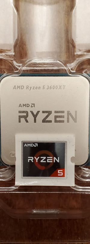RYZEN 5 AMD AM4 3600XT 4.5GHZ DESKTOP CPU PROCESSOR for Sale in ROWLAND HGHTS, CA