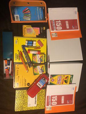 School supplies all $20 for Sale in Lodi, CA