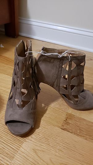Xoxo Womens Open Toe Heel Shoes for Sale in Medford, MA