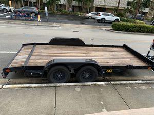 Big Tex 7x16 Car Trailer for Sale in Miami, FL