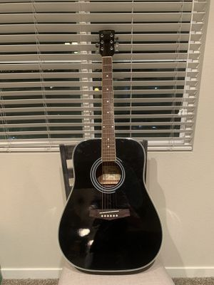 Ibanez Acoustic Guitar- Gloss Black (Excellent condition) for Sale in Henderson, NV