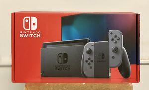 Brand New In Box Nintendo Switch 32GB Console Gray Joy-Con V2 for Sale in Castro Valley, CA