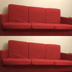Sofa (Red, Glacier Bay Sleeper) for Sale in Westlake,  OH