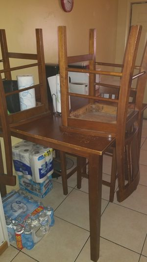 Wooden kitchen table for Sale in HALNDLE BCH, FL