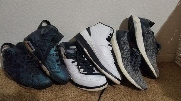 Jordan 6 jordan 2 Adidas ultra boost