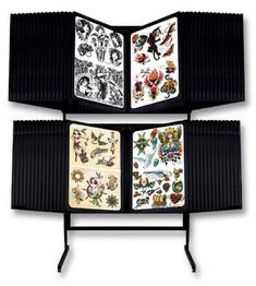 Tattoo artists 📣📢 Art Flash Rack (2-Tier) Excellent Condition for Sale in Seattle, WA