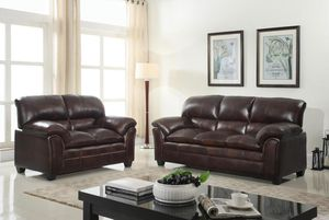 Selo Mahogany Sofa & Loveseat | U5182 byGlobal $849.00 for Sale in Baltimore, MD