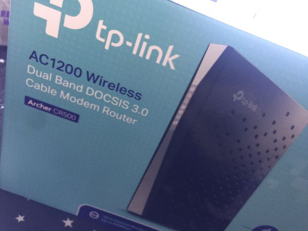 Tp link cable modem router