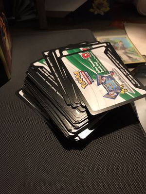 Pokémon TCGO Code Cards for Sale in Dallas, TX