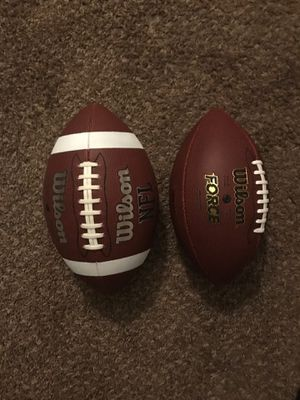 Footballs (New) for Sale in Nashville, TN