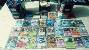 Pokemon ex collectible cards over 2000 cards and have about 30 more ex and collectible one's even cards from first edition for Sale in Tampa, FL