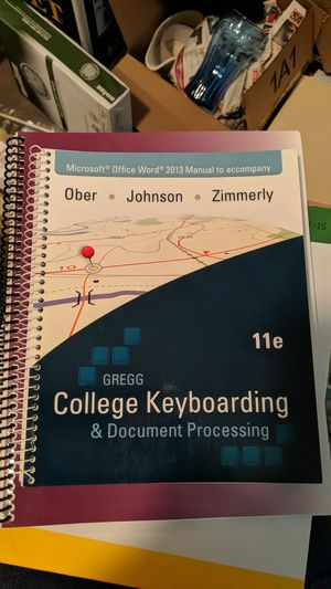 GREGG College Keyboard & Document Processing for Sale in Vancouver, WA
