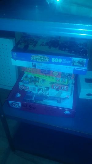 Different puzzles and games 1.00 obo for Sale in Washougal, WA