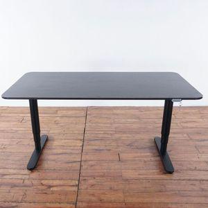 Intertek Contemporary Laminate and Black Metal Standing Desk (1022332) for Sale in San Bruno, CA
