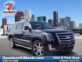 2018 Cadillac Escalade Esv for Sale in El Monte,  CA