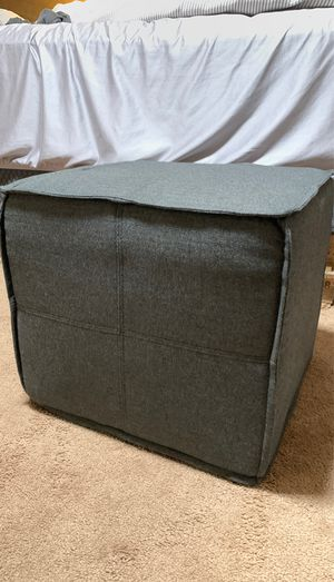 Dark Grey Square stool for Sale in Millersville, MD
