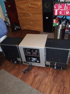 kLH audio sistem 2 espiker bose for Sale in Gardena, CA