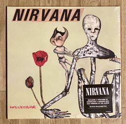 Nirvana 2LP Vinyl Records 180gram Gatefold - Please Observe All Pictures - List Of Songs In Pictures - New Sealed for Sale in Normandy Park,  WA