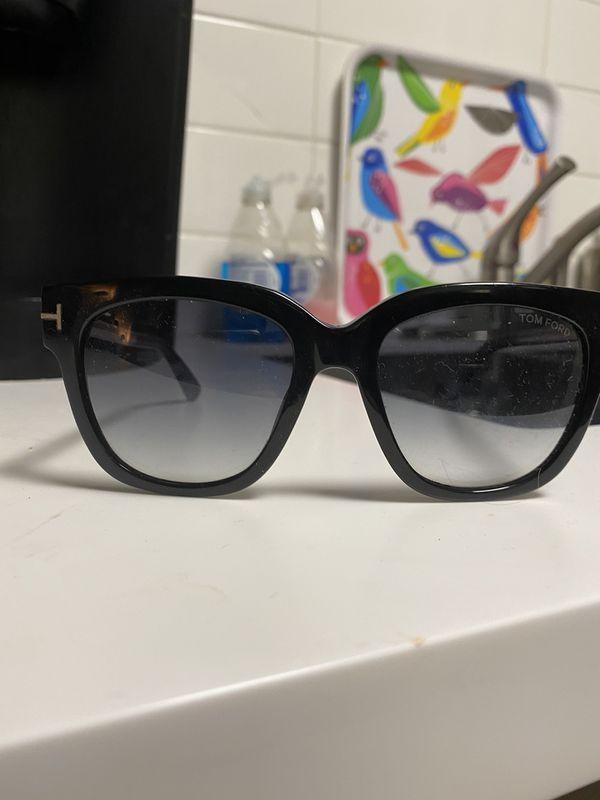 Tom Ford Designer Black and Rose Gold Women's Sunglasses