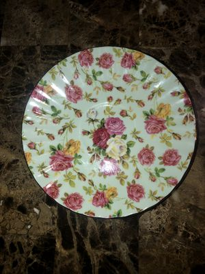 Fine China Floral tea plate for Sale in Hayward, CA