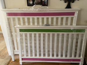 Baby Crib and changing table/dresser . Price $450.00 or best offer! for Sale in Lowell, MA