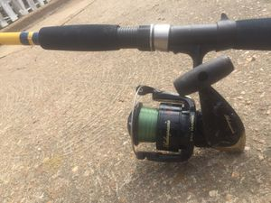 Fishing rod and spinning reel combo for Sale in St. Louis, MO