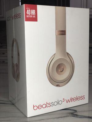 Beats solo 3 wireless headphones for Sale in Miami, FL