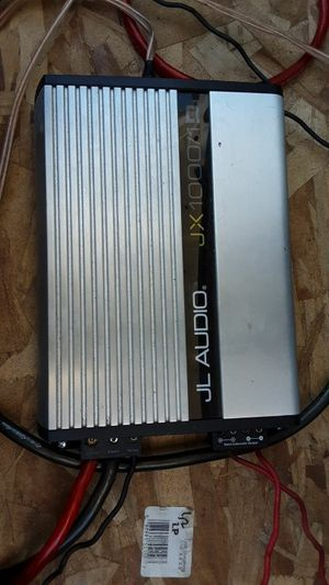 J.l audio 13.5 inch speakers and 1000 watt jl amp for Sale in Denver, CO
