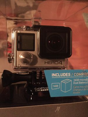 GoPro hero 4 silver for Sale in Irving, TX