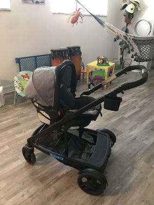 Double stroller Graco + 1 Car seat for Sale in Miami, FL
