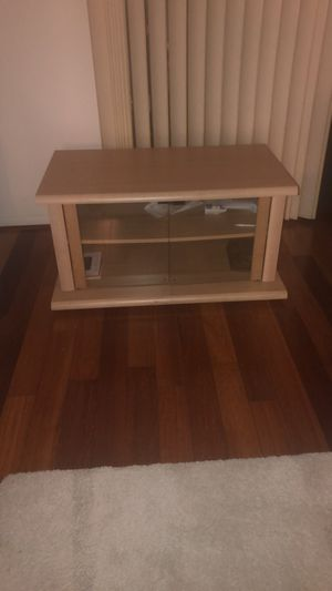 Small tv stand for Sale in Tysons, VA