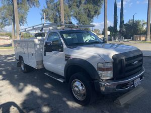 2008 Ford dually F450 diesel work truck $10500 or trade for a classic truck for Sale in San Bernardino, CA