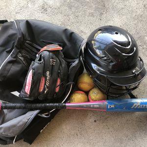 Girl Softball Gear for Sale in Santa Fe Springs, CA