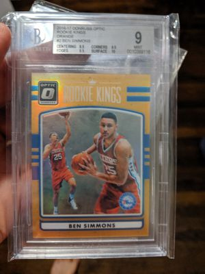 2016 Donruss Ben Simmons orange rookie for Sale in Roanoke, VA